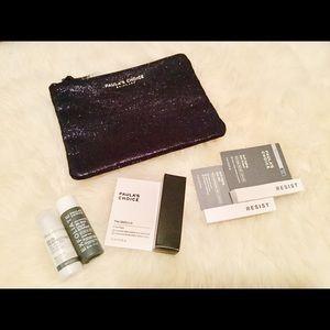 NWT Paula's Choice Holiday Travel Set & Makeup Bag